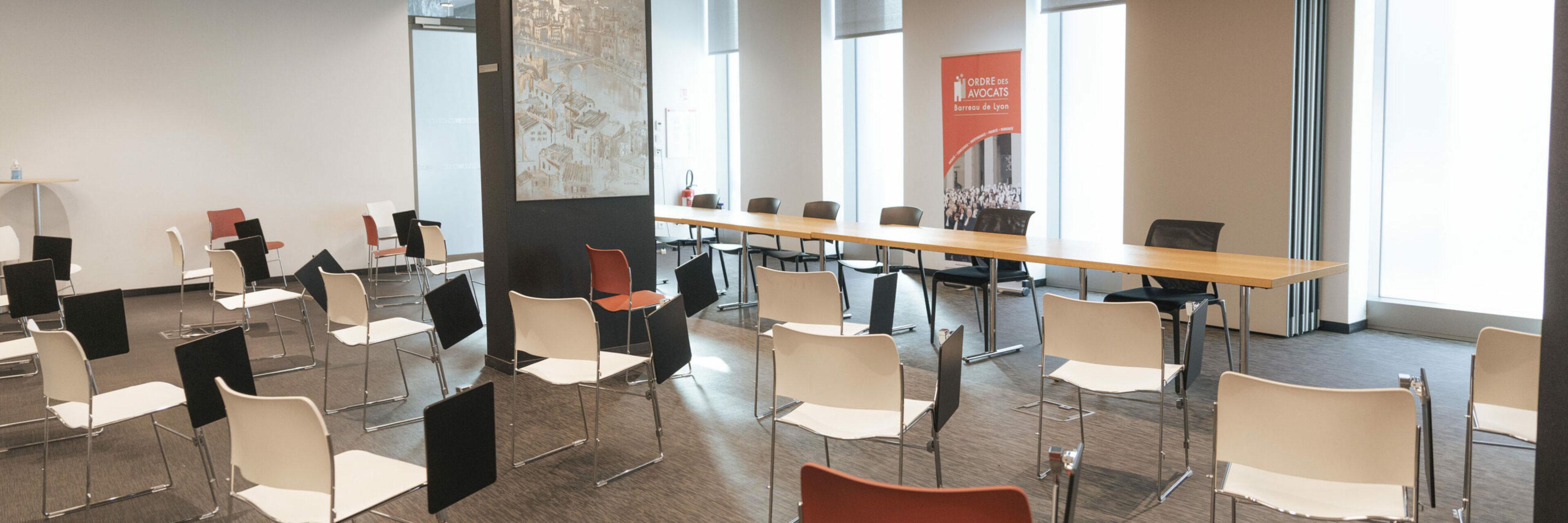 Salle de conférence de la Maison des Avocats Lyon